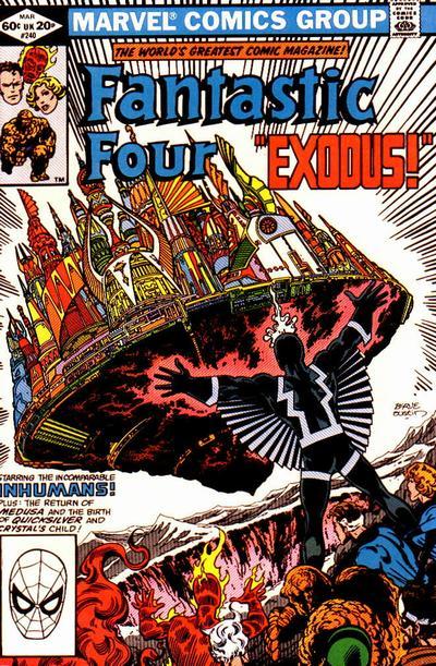Fantastic Four 240 - Exodus