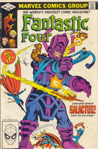 Fantastic Four 243 - Shall Earth Endure?