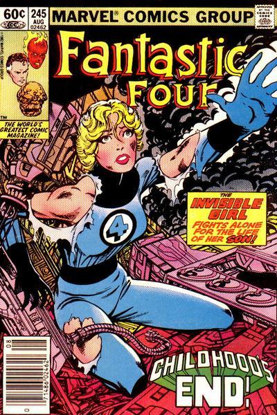 Fantastic Four 245 - Childhood's End