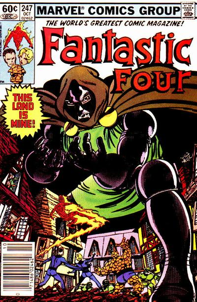 Fantastic Four 247 - This Land Is Mine!