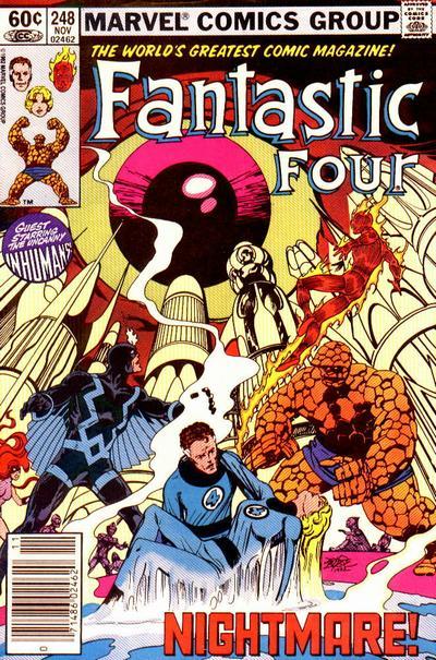 Fantastic Four 248 - Nightmare!