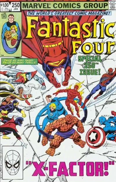 Fantastic Four 250 - X-Factor