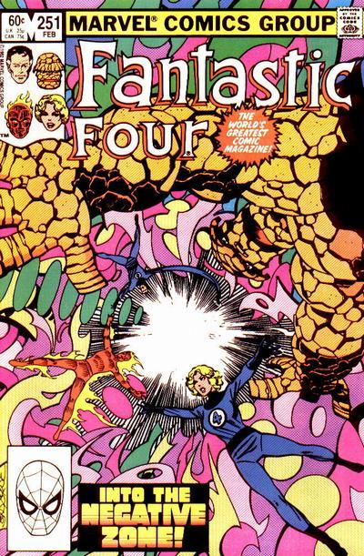 Fantastic Four 251 - Into the Negative Zone!