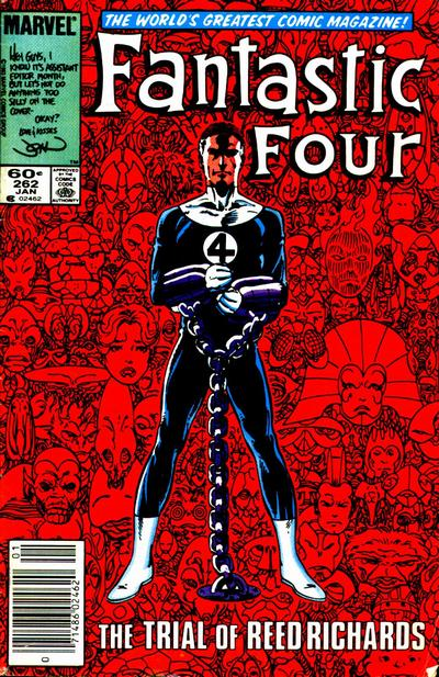 Fantastic Four 262 - The Trial of Reed Richards