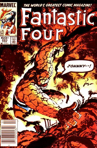 Fantastic Four 263 - R. and R.