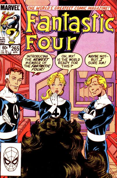 Fantastic Four 265 - The House That Reed Built