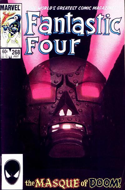 Fantastic Four 268 - The Masque of Doom!