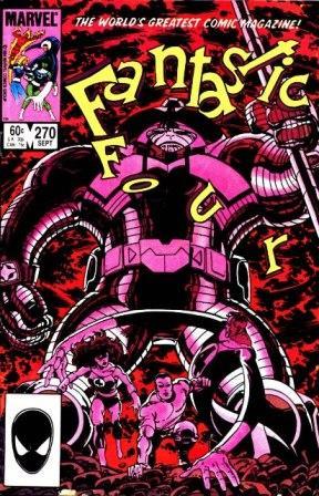 Fantastic Four 270 - Planet-Fall
