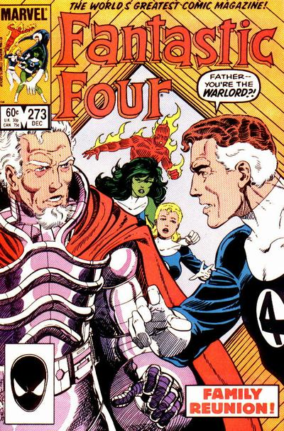 Fantastic Four 273 - Fathers and Others