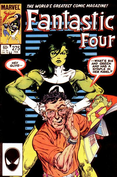 Fantastic Four 275 - The Naked Truth