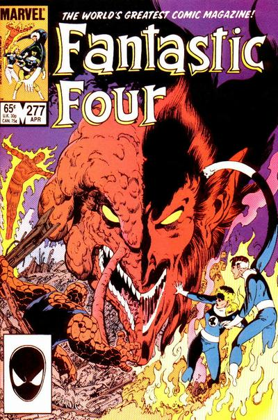 Fantastic Four 277 - Back From Beyond