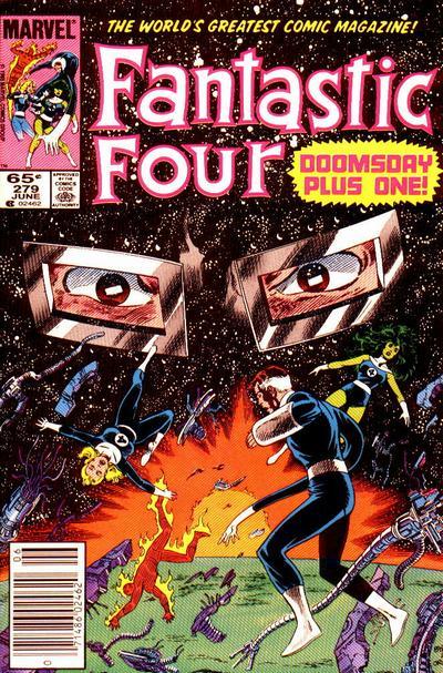Fantastic Four 279 - Crack of Doom!