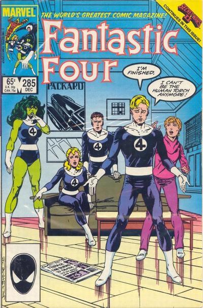 Fantastic Four 285 - Hero