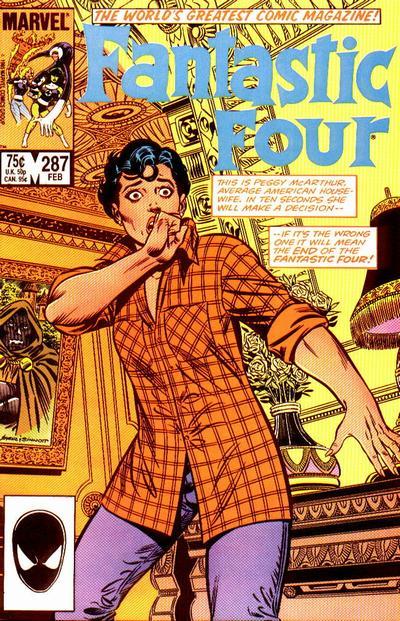 Fantastic Four 287 - Prisoner of the Flesh