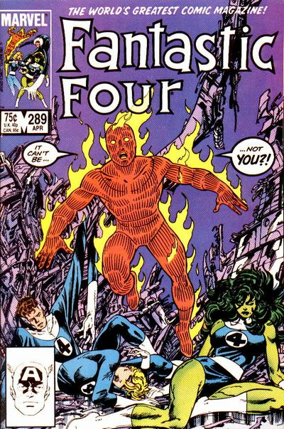Fantastic Four 289 - Rip Wide the Sky!