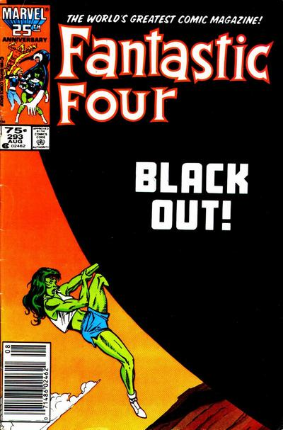 Fantastic Four 293 - Central City Does Not Answer!