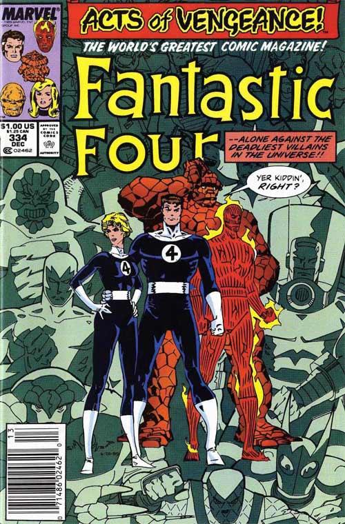 Fantastic Four 334 - Shadows of Alarm...!