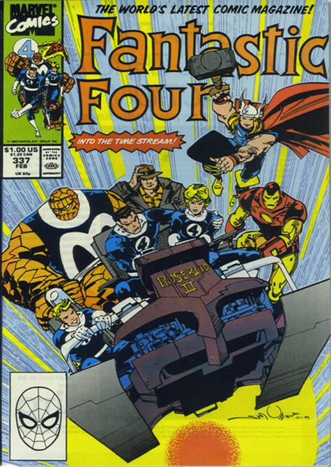 Fantastic Four 337 - Into the Time Stream!