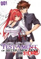 Manga - The testament of sister new Devil - Storm!