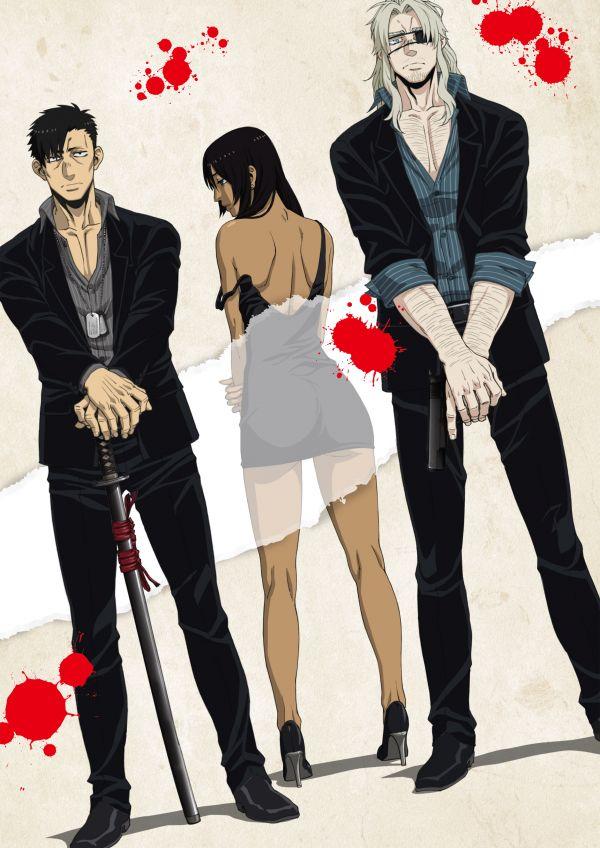 Gangsta en DVD/Blu-ray chez @Anime