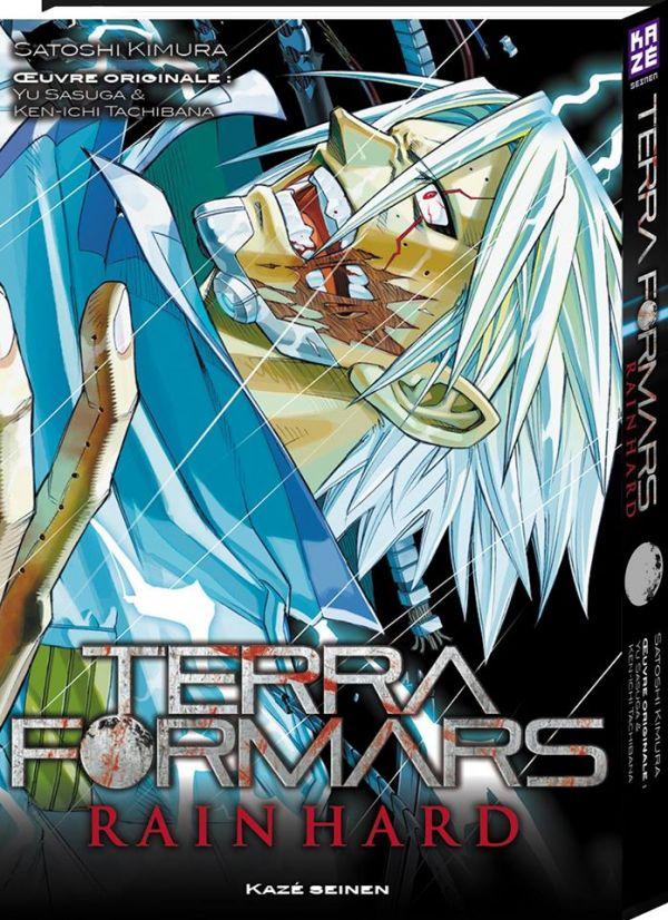 Terra Formars - Rain Hard chez Kazé