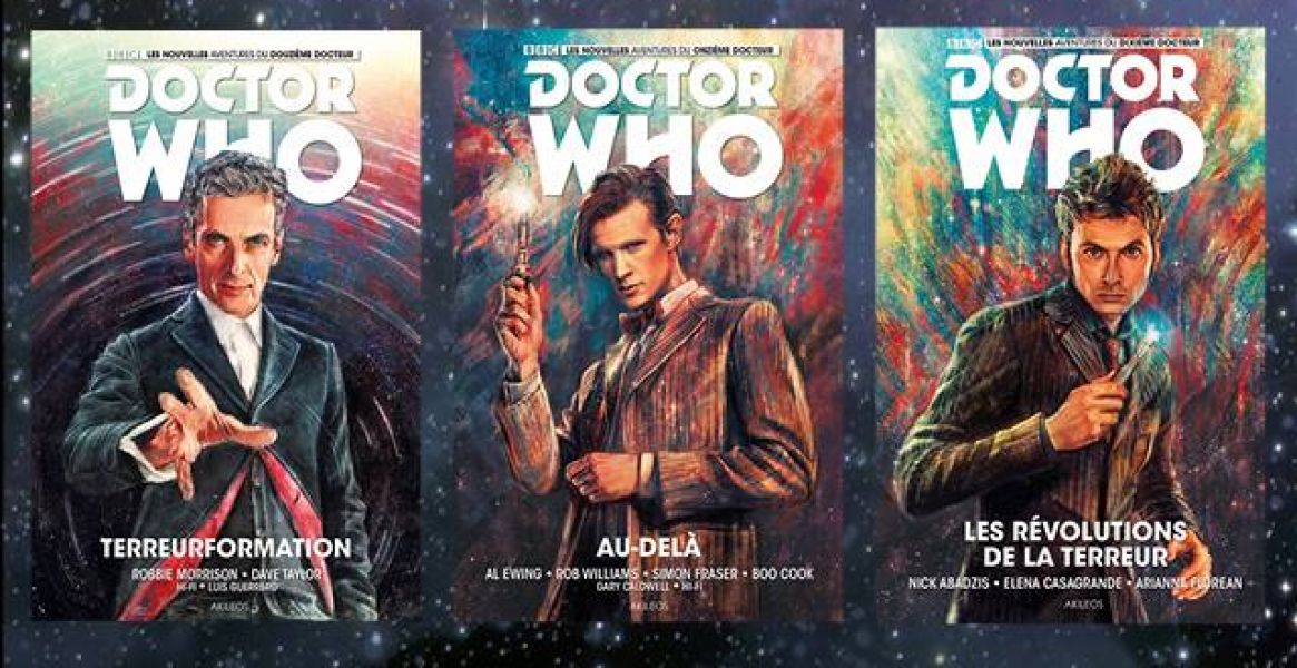 Doctor Who comics - Report des premiers volumes + dédicaces