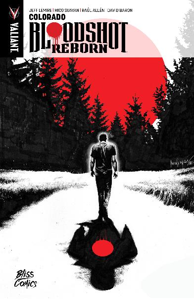 LECTURE EN LIGNE : BLOODSHOT REBORN (Bliss Comics)