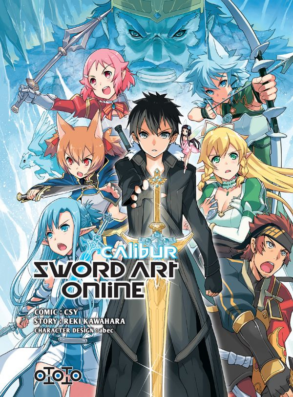 Sword Art Online – Calibur et Sword Art Online – Mother's Rosario chez Ototo