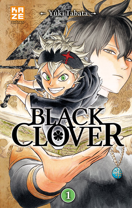 Black Clover chez Kazé manga