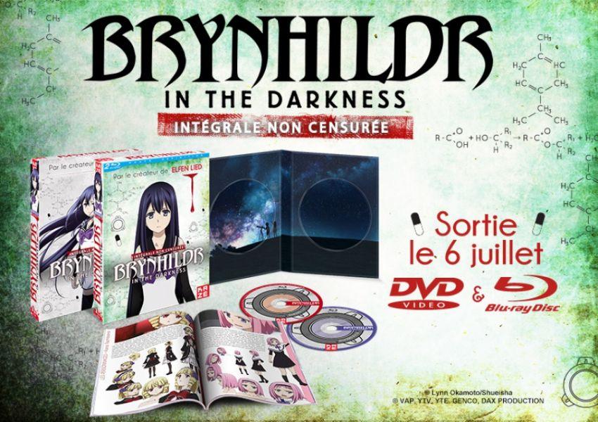 Brynhildr in the darkness, l'intégrale en DVD et BR