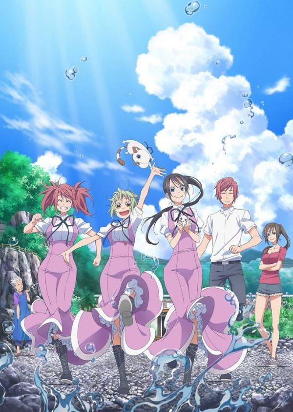 Nouveau trailer pour l'anime d'Amanchu