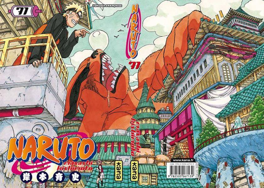 Naruto 71 : découvrez la couverture exclusive Fnac