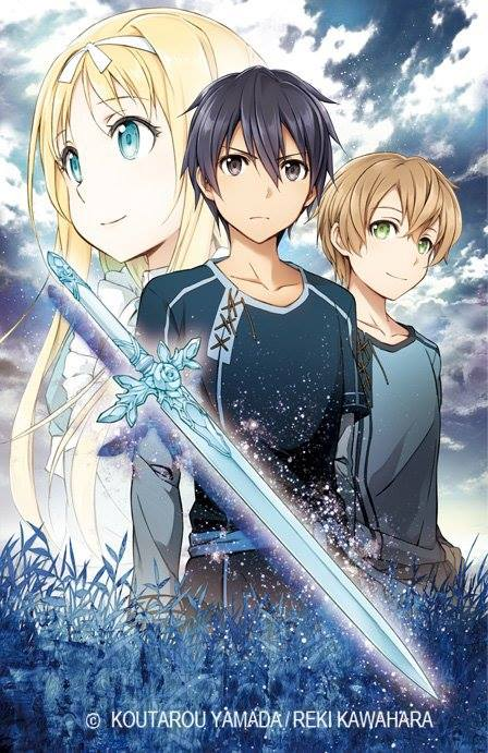 Nouvel arc Sword art Online : ALICIZATION