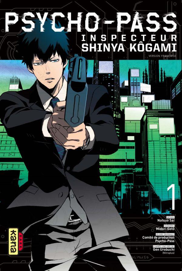 Chronique : Psycho-Pass, Inspecteur Shinya Kôgami 1