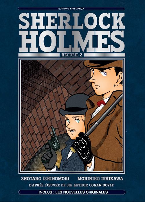 Un nouveau recueil pour Sherlock Holmes chez Isan Manga