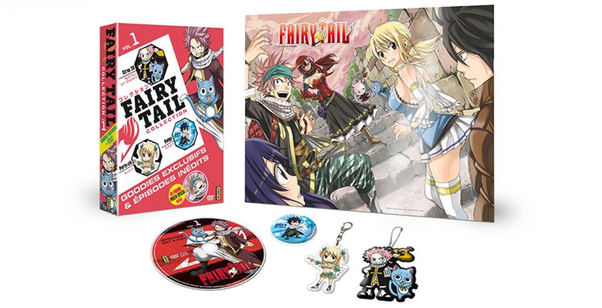 Fairy Tail collection arrive chez Kana