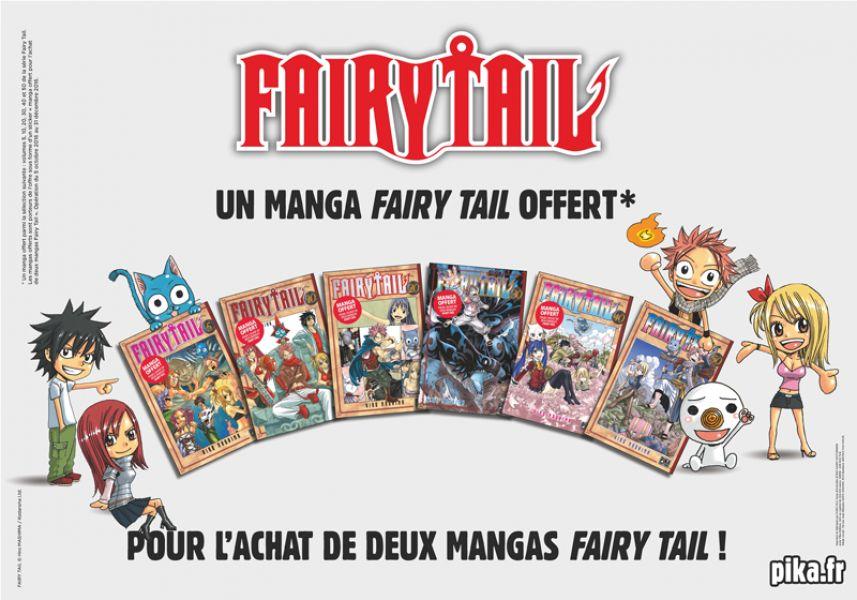 Opération Fairy Tail en librairies