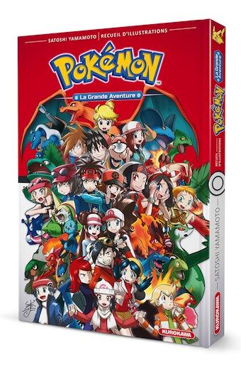 L'artbook Pokémon chez Kurokawa