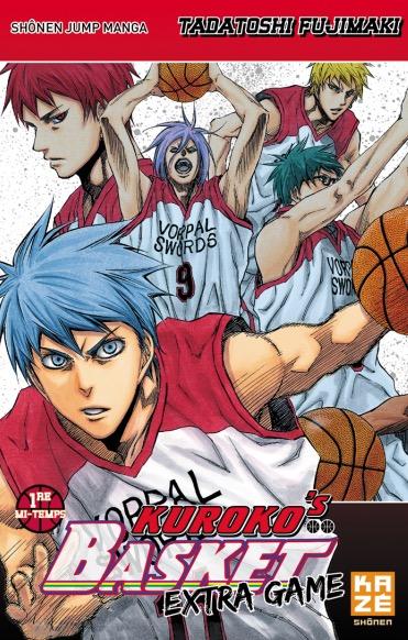 Kuroko's Basket Extra-Game chez Kazé Manga