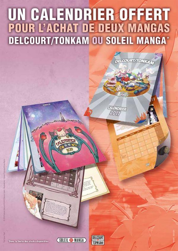 Soleil et Delcourt / Tonkam vous offrent des calendriers