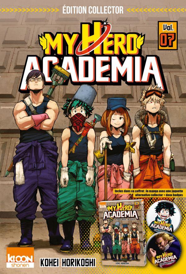 My Hero Academia 7 aura son coffret collector