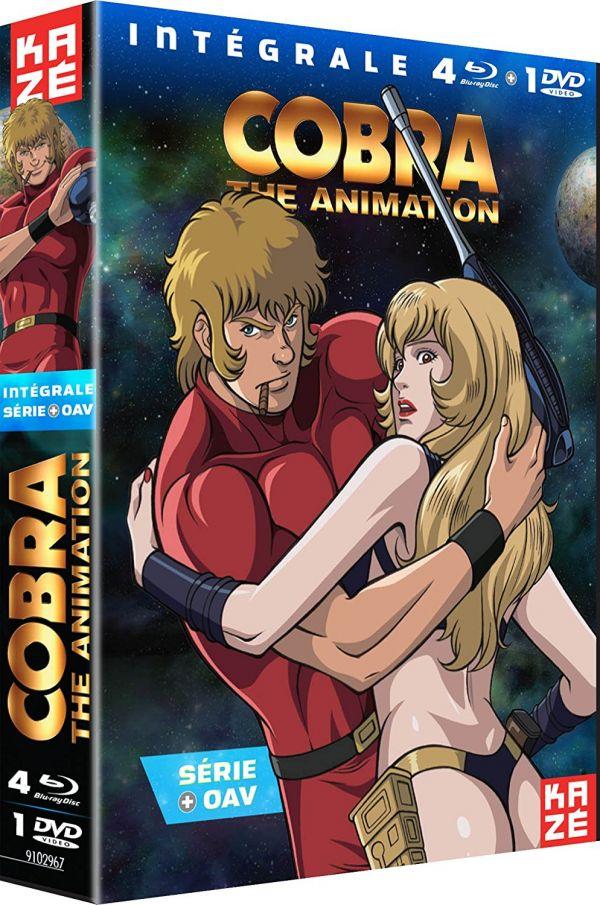 Cobra The Animation Collector chez Kazé