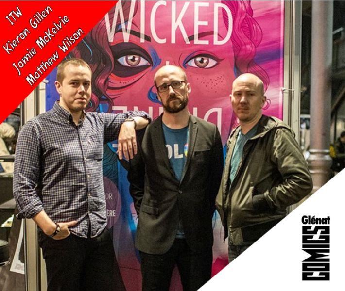INTERVIEW DE KIERON GILLEN / JAMIE MCKELVIE / MATTHEW WILSON - PARTIE 2