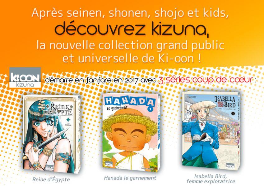Kizuna : la nouvelle collection de Ki-oon