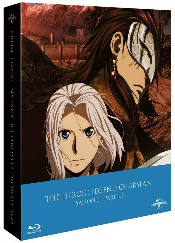 Concours DVD/Blu-ray The Heroic Legend of Arslan
