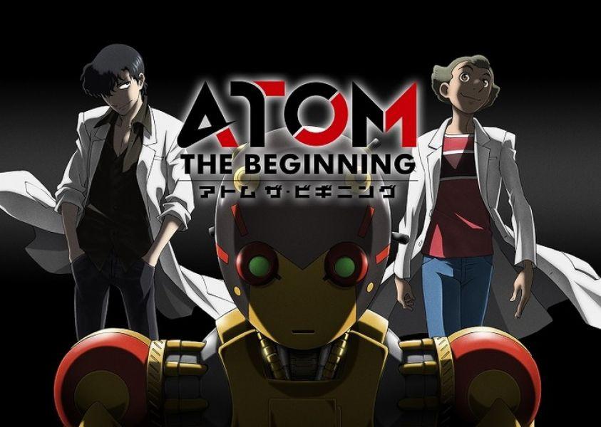 L'anime d'Atom the beginning arrive en avril au Japon