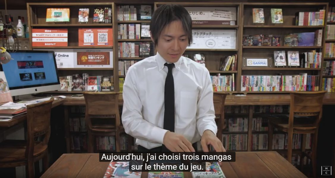 The manga Concierge : une émission manga made in Japan