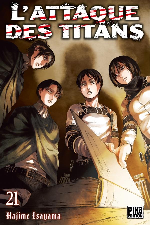 Une édition limitée pour le tome 21 de l'Attaque des titans