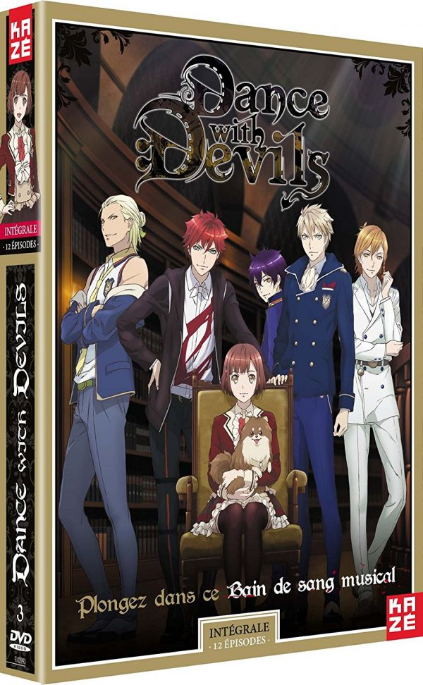 Dance with Devils en DVD chez Kazé