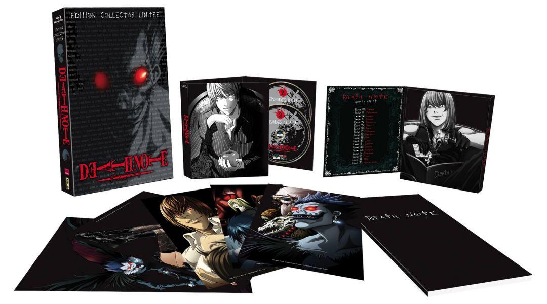 Death note va sortir en Blu-ray